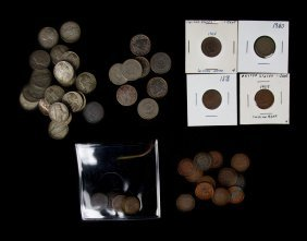[us] Mixed Cents, Nickels