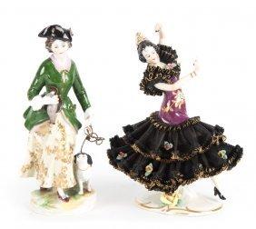 Two German Porcelain Figurines
