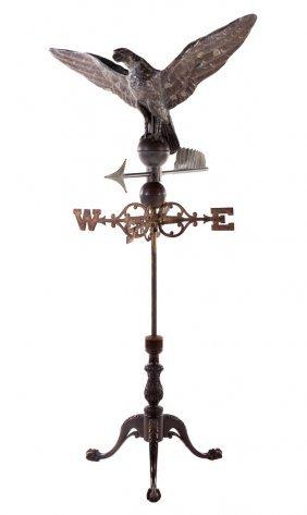 American Copper Cast Iron Eagle Weather Vane