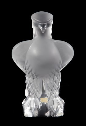 Lalique Crystal Eagle