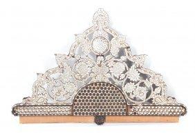 Orientalist Manner Architectural Pediment