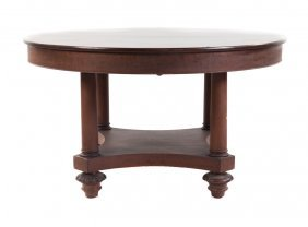 Classical Revival Mahogany Dining Table