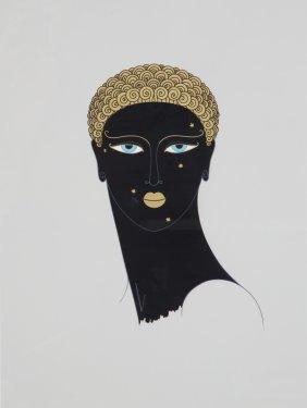 Erte. Queen Of Sheba, Serigraph
