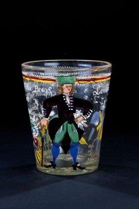 A Beaker Of The Head Miner Caspar Hoffmann Franconi