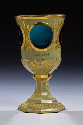 An Important Goblet With The Four Seasons Friedrich
