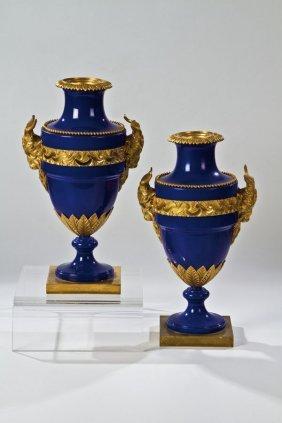 Paar Amphoren - Vasen