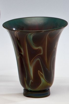 Hohes Koppchen Aus Achatglas