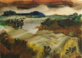 Richard Clarke Grouse Creek TN Watercolor