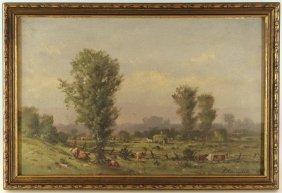 Thomas Campbell Pastoral Landscape