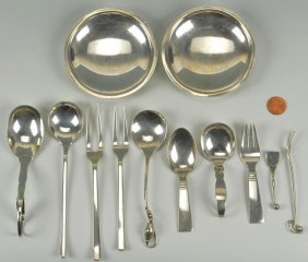 Georg Jensen, Kay Bojesen And Grun Sterling