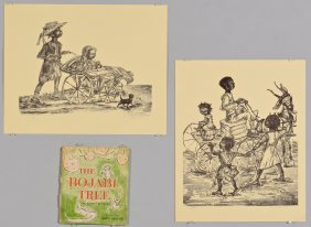 2 Anna Braune African American Prints & Book