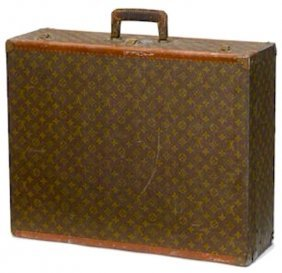 A Vintage Louis Vuitton Case