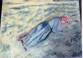 Camille Pissarro - Woman Sleeping