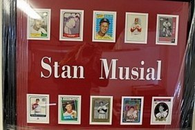 Stan Musial Framed Collectible