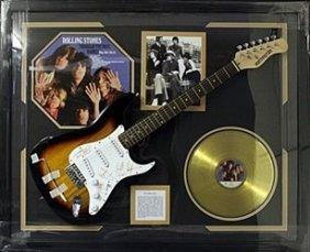 "Memorabilia ""the Rolling Stones"" Autographed Guitar"