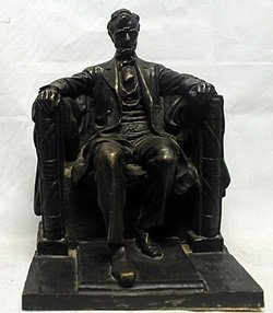 The Lincoln Memoraial Bronze Sculpture