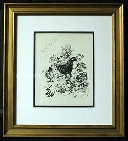 Lithograph Out Of The Book By Marc Chagall