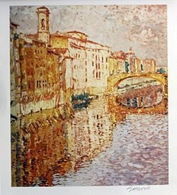Lithograph - Marco Sassone