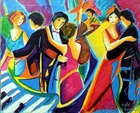 """the Tango Club"" Giclee By Phillip Maxwell"