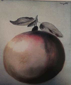 Rene Magritte - The Apple