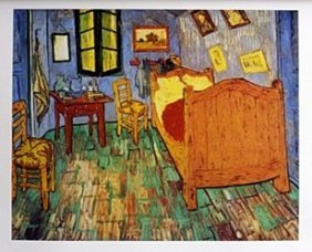 Lithograph Van Gogh Bedroom At Aries - Vincent Van Gogh