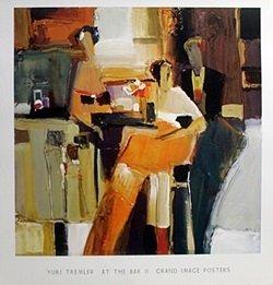 Print - At The Bar Ii - Yuri Tremler