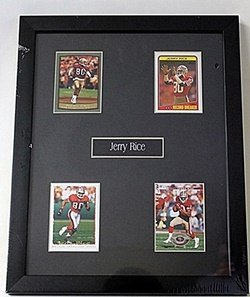 Jerry Rice 4 Card Set He5020