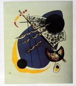 "Giclee On Canvas ""small Worlds"" By Wassily Kandinsky."