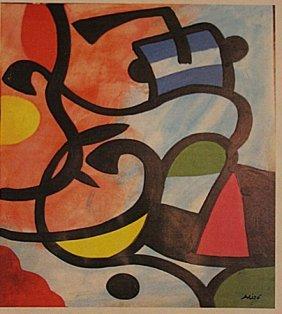 Joan Miro - Navegando Sobre El Mar
