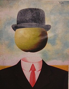 Rene Magritte - Mr. Apple