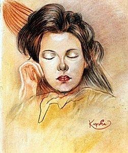 Portrait Of Emile 1940' - Frantisek Kupka
