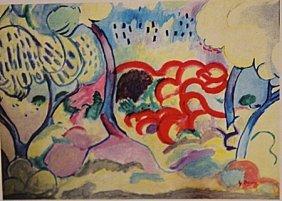Georges Braque - Landscape At The Ciotat