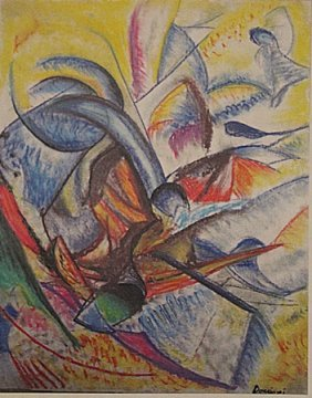 Umberto Boccioni - Composition