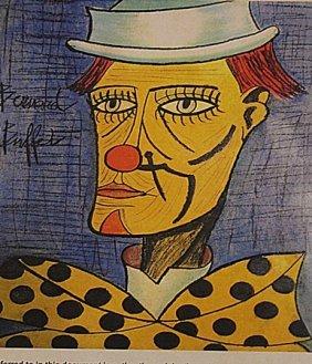 Bernard Buffet - The Clown V