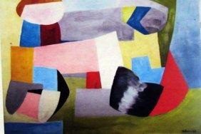 Jean Helion - Composition 1935 Oil