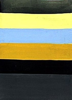 Untitled 1980' - Oil On Paper - S. Scully