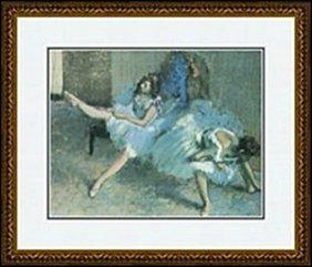 Before The Ballet(detail), 1888 By Edgar Degas
