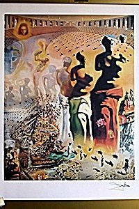 Hallucinogenic Toreador By Dali
