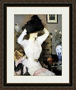 The Black Hat By Frank Weston Benson