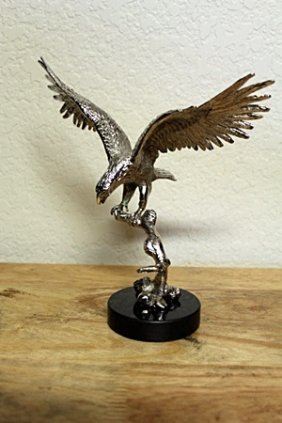 Beautiful Sterling Silver Eagle