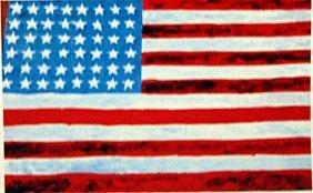 Jasper Johns - The Flag