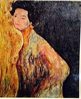 Gustav Klimt - The Dancer