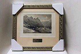 """iceberg Lake, Isterdal"" By Artist R.t. Pritchett"