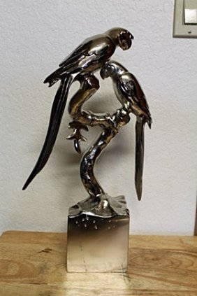 Beautiful Sterling Silver Parrot