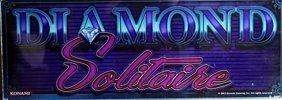 "Vintage Collectible Casino Slot Machine Glass ""diamond"