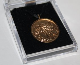 Famous Origianl Pendant Signed By Erte.