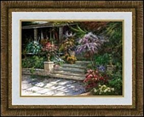 Sunlit Porch In Spring By Robert Lui