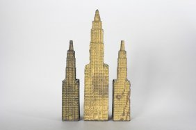 Two Small / One Large Woolworth Buildings Still Bank