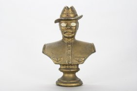 Teddy Roosevelt Bust Still Bank