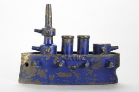 Battleship Maine, Large Still Bank